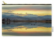 Marvelous Mccall Lake Reflections Carry-all Pouch