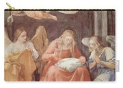 Mary And Angels 1611 Carry-all Pouch