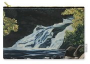Mary Ann Falls On The Cabot Trail Carry-all Pouch