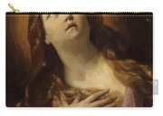 Mary Magdalene In Ecstasy At The Foot Of The Cross 1629 Carry-all Pouch