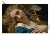 Mary Magdalene In The Cave Carry-all Pouch