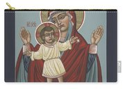Mary, Mother Of Mercy - Dedicated To Pope Francis In This Year Of Mercy 289 Carry-all Pouch