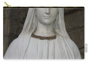 Mary Statue At Sacred Heart In Tampa Carry-all Pouch