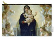 Mary With Angels Carry-all Pouch