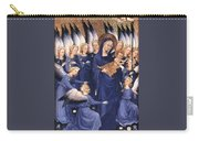 Mary With Baby Jesus Carry-all Pouch