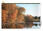 Maryland Autumns - Clopper Lake - Kingfisher Overlook Carry-all Pouch