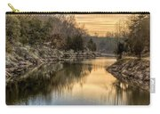 Maryland Canal Sunrise Carry-all Pouch