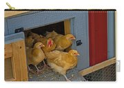 Aunt Mary's Chickens Carry-all Pouch