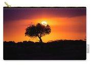 Masai Mara Sunrise Carry-all Pouch