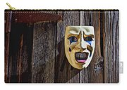 Mask On Barn Door Carry-all Pouch