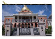 5- Massachusetts State House Eckfoto Boston Freedom Trail Carry-all Pouch