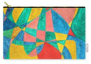 Massage In Abstract Word Art Carry-all Pouch
