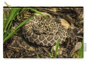 Massasauga Rattlesnake Carry-all Pouch