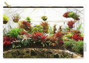 Massed Bromeliad In Hothouse Carry-all Pouch