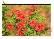 Masses Of Azaleas Carry-all Pouch