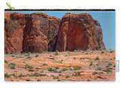 Massive Sandstone Cliffs Valley Of Fire Carry-all Pouch