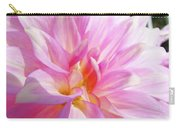 Master Gardeners Pink Dahlias Art Prints Baslee Troutman Carry-all Pouch