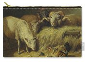 Maternal Solicitude By Arthur Fitzwilliam Tait Carry-all Pouch