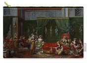 Private Chamber Of An Aristocratic Turkish Woman Carry-all Pouch