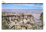 Mather Point At The Grand Canyon Carry-all Pouch by Julie Niemela