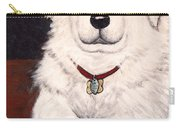 Matisse- Portrait Of A Hungarian Kuvasz Carry-all Pouch