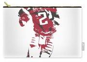 Matt Ryan Atlanta Falcons Pixel Art 6 Carry-all Pouch