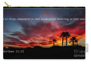 Matthew 21 Carry-all Pouch