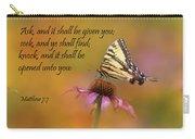 Matthew 7 7 Carry-all Pouch