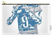 Matthew Stafford Detroit Lions Pixel Art 5 Carry-all Pouch