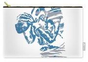 Matthew Stafford Detroit Lions Pixel Art 6 Carry-all Pouch