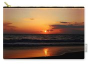 Maui Beach At Sunset Carry-all Pouch