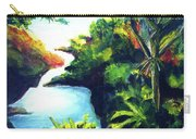 Maui Seven Sacred Falls #184 Carry-all Pouch