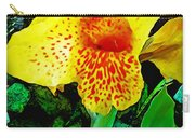 Maui Yellow Floral Carry-all Pouch