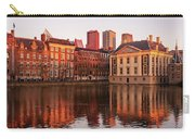 Mauritshuis And Hofvijver At Golden Hour - The Hague Carry-all Pouch