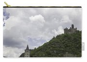 Maus Castle And The Village Of Wellmich Carry-all Pouch