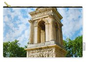 Mausoleum Of The Julii - Glanum Roman Ruins Carry-all Pouch