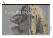 Mausoleum Protector Quote Carry-all Pouch