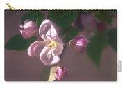 Mauve Blossom Carry-all Pouch