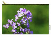 Mauve Flowers  Carry-all Pouch