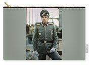 Maximilian Schell As Capt. Stransky Cross Of Iron Publicity Photo 1977 Carry-all Pouch