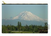 May Mt. Rainier Carry-all Pouch