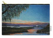 May River Sunset Carry-all Pouch by Stanton Allaben