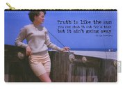 May September Romance Quote Carry-all Pouch