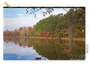 Mayor's Pond, Autumn, #7 Carry-all Pouch