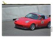 Mazda Miata On Pit Lane Carry-all Pouch