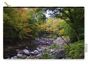 Mcarthur Bridge Over The Roaring Branch Carry-all Pouch
