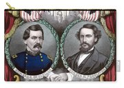 Mcclellan And Pendleton Campaign Poster Carry-all Pouch