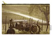 Mccormick Deering Tractor In Sepia Carry-all Pouch