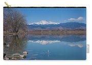 Mcintosh Lake Reflections Carry-all Pouch