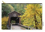 Mckee Bridge In Fall Carry-all Pouch